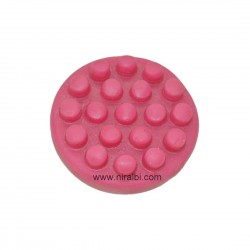 Silicone Circle Accupressure Soap Mould