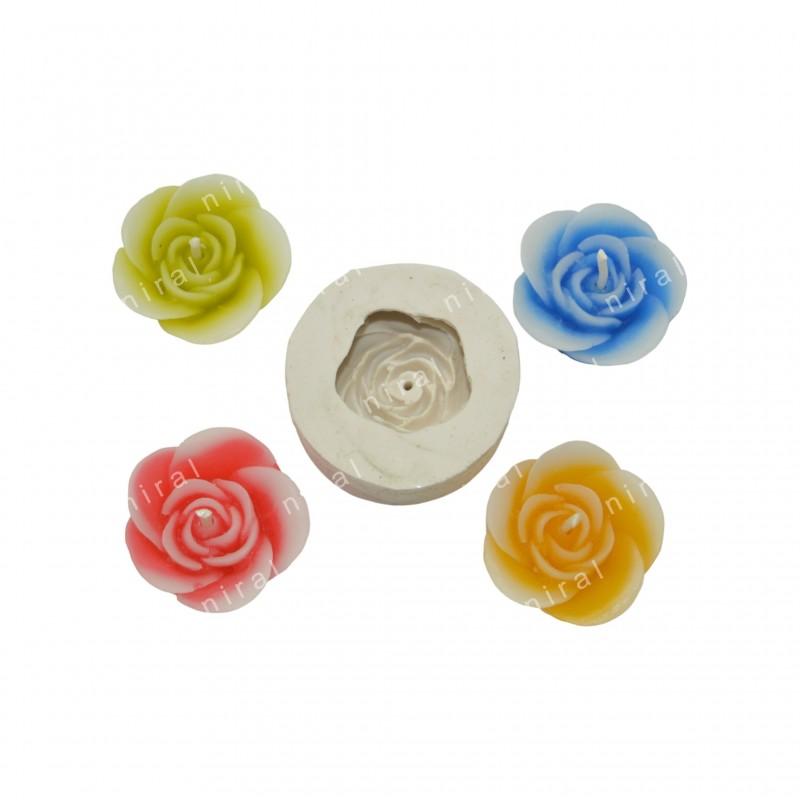 Circle Accupressure Rubber Soap Mould