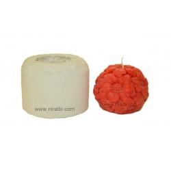 Sunflower Ball Pillar Candle Mould