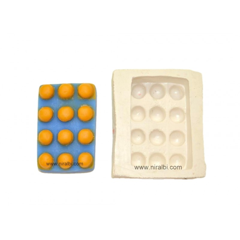 Soap Rubber Silicone Mould