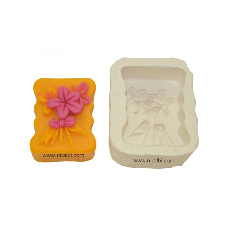 Flower Rubber Silicone Soap Mold