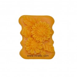 2D Sunflower Silicone Soap Mould