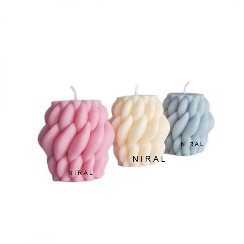 2D Sunflower Rubber Soap Mould
