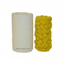 Mixed Fruit Large Design Pillar Candle Mould