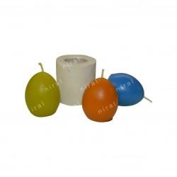 Designer 2D Rubber Silicone Soap Mould