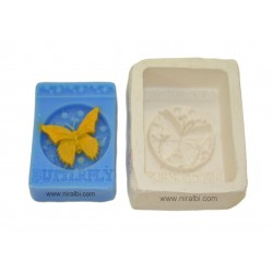 Silicone Designer Butterfly Soap Mould