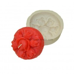 Rose Flower Designer Floating Candle Mould