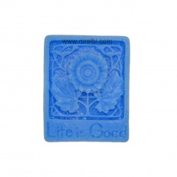 Life is Good Silicone Soap Mould
