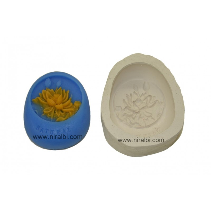 Lotus Design Soap Making Mould