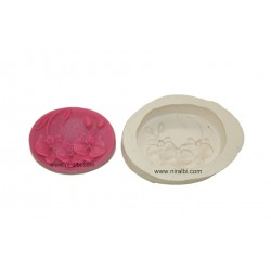 Lotus Bud Leaf Silicone Soap Mould