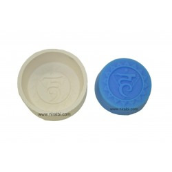 Vishuddha Throat Chakars Silicone Soap Mould