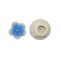 5 Petals Flower Design Candle Mould