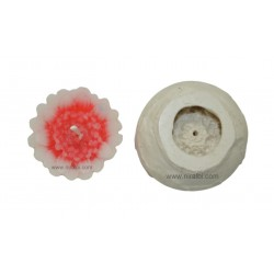 Small Design Flower Candle Mould