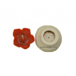 Silicone Designer Flower Candle Mould