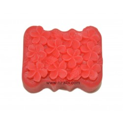 Periwinkle Flowers Silicone Soap Mould