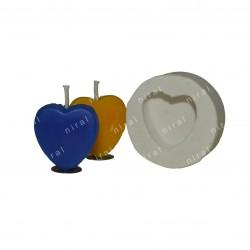 Peacock Rubber Silicone Soap Mould