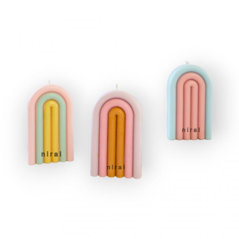4 Patel Flower Soap Making Mould