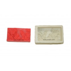 Designer Flower Silicone Soap Making Mould