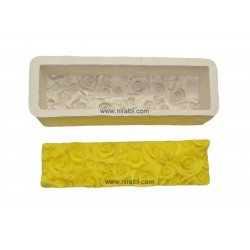 Rose Bud Loaf Soap Making Mould
