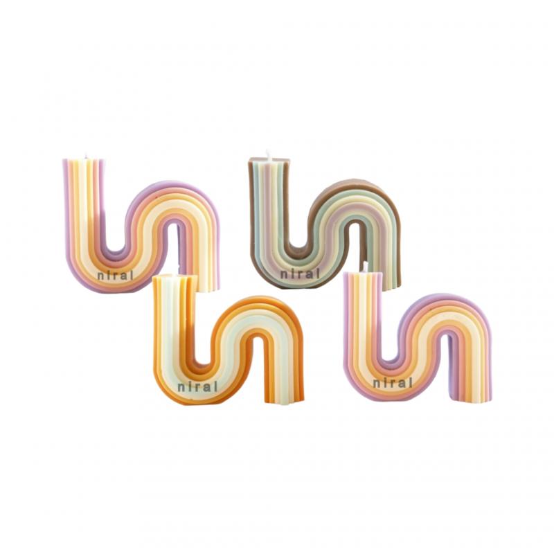 Rose Flower Rectangle Soap Making Mould