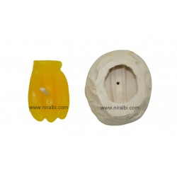 3 Small Banana Candle Mould