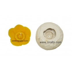 Texture Flower Candle Mould