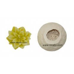 Succulent Flower Candle Mould