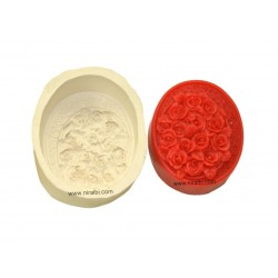 Rose Flower Rubber Soap Mould
