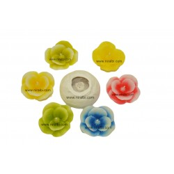 Silicone Floating Flower Candle Mould