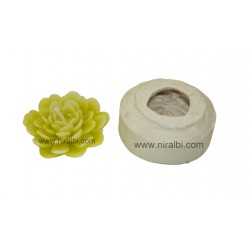 Small Petals Flower Candle Mould