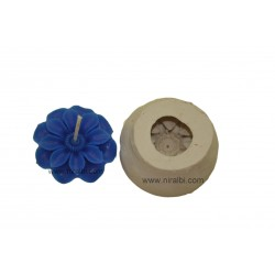 Designer flower silicone Rubber candle mould