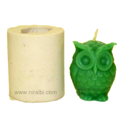 small owl shape silicone Rubber candle mould