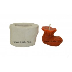 Baby Shoes Pillar Candle Mould
