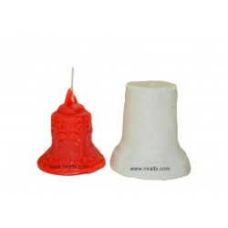 Bell Candle Silicone Mould