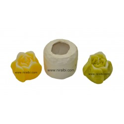 Silicone Rose Bud Candle Mould