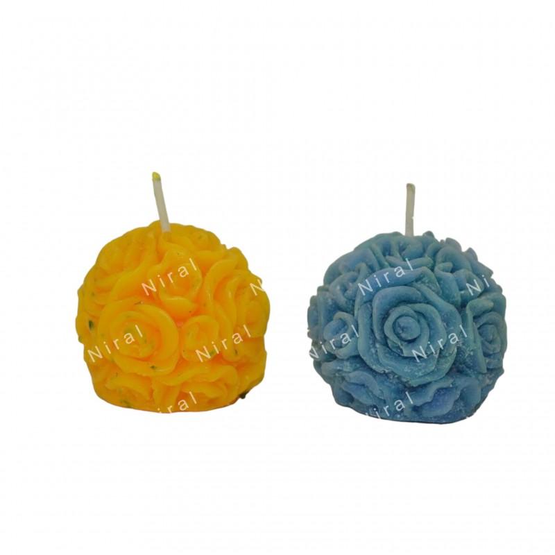 Rose Shape Niral Soap Mould