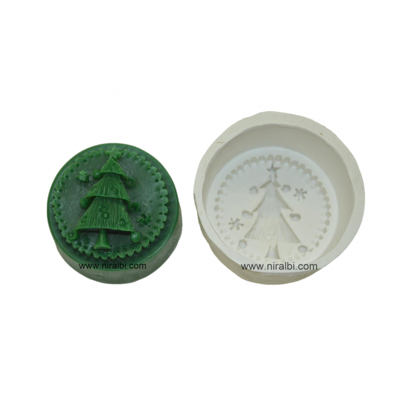Christmas Tree Silicone Soap Mould
