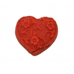 Designer Heart Silicone Soap Mould