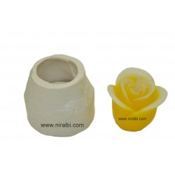 Small Rose Bud Candle Mould