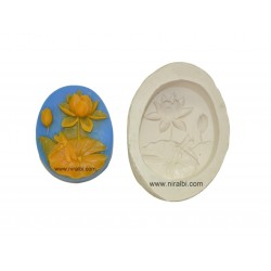 Lotus Silicone Soap Mould