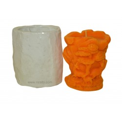 Leaf & Deer Silicone  Candle Mould