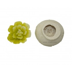 Floating Flower Silicone Candle Mould
