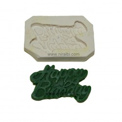 Birthday Word Candle Mould