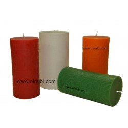 Large Octogon Designer Silicone Candle Mould