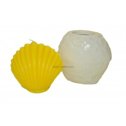 Shell Design Candle Mould.