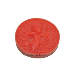 Cute Boy Holding Arrows Silicone Soap Making Mold
