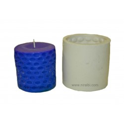 Silicone SL200 Beehive Pillar Candle Mould