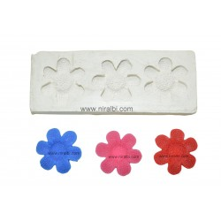 Niral Flower Rubber Candle Molds