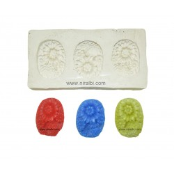 Tart Flower Candle Mould