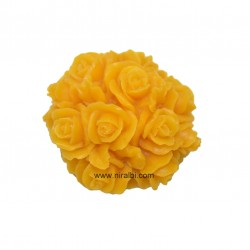 3D Rose Flower Rubber Silicone Soap Mould